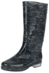 Lace Rain Boots