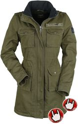 Ladies Field Jacket inkl. varmepuder