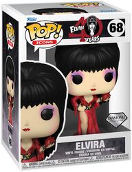 Elvira POP! Icons - 40th Anniversary - Elvira Vinyl Figur 68