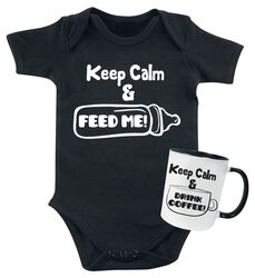 Keep Calm Baby - body + kop
