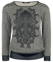 Rock Rebel Studs Sweatshirt