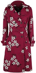 Marjorie Floral Trench