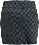 Checkerboard nederdel