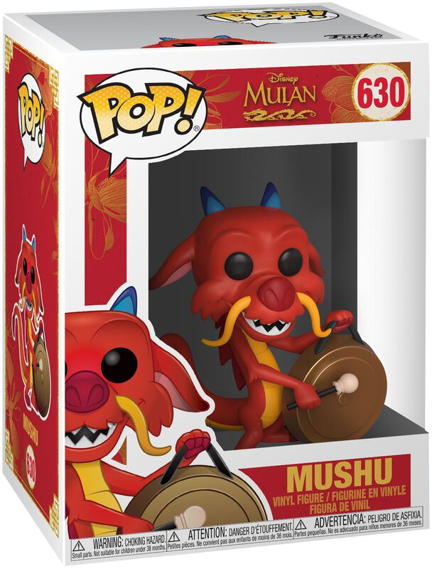 Mushu with Gong Vinyl Figure 630