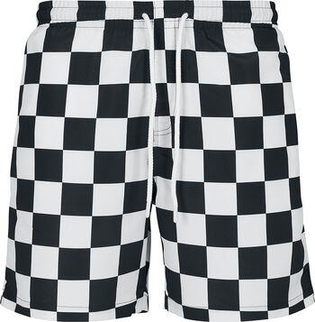 Check Swim Shorts