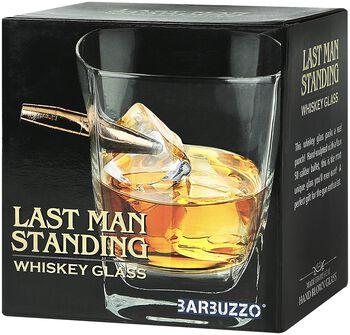 Last Man Standing Whiskyglas