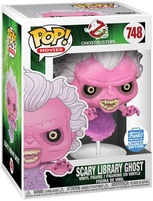 Scary Library Ghost (Funko Shop Europe) Vinyl Figure 748