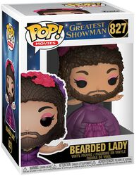 Greatest Showman Bearded Lady Vinyl Figure 827