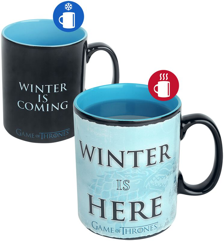 Winter Is Here - motivskiftende krus
