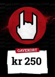 Gavekort 250,00 DKK
