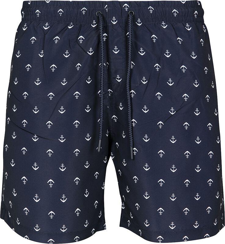 Pattern Swim Shorts Anchor