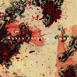 World painted blood