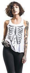 Feather Bone Vest
