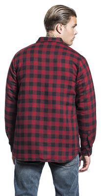 Checked Shirt black/red