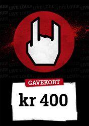 Gavekort 400,00 DKK