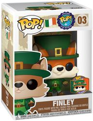 Around the World - Finley (POP and Pin) (Ireland) (Funko Shop Europe) Vinyl Figure 03