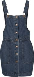 Ladies Denim Dungarees Dress