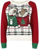 Christmas Dogs - Bulldog