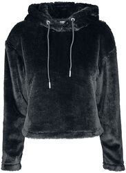 Ladies Oversize Short Teddy Hoody