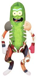 Galactic Plushies: Pickle Rick in Rat Suit (ca. 46 cm)