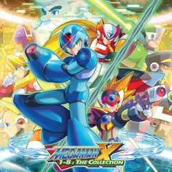 Mega Man X 1-8: The collection