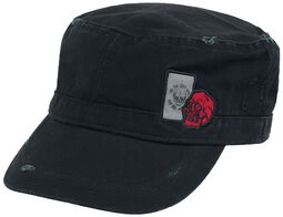 Schwarze Army Cap