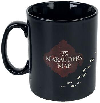 Marauder's Map - motivskiftende krus