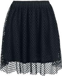 Nederdel med tylskørt
