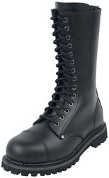 Black 14 Hole Lace-Up Boots