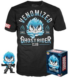 Venom - T-Shirt plus Funko Ghost Rider