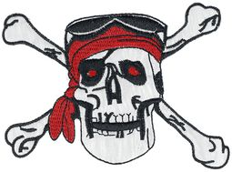 Patch: Pirate Skull with Bandana
