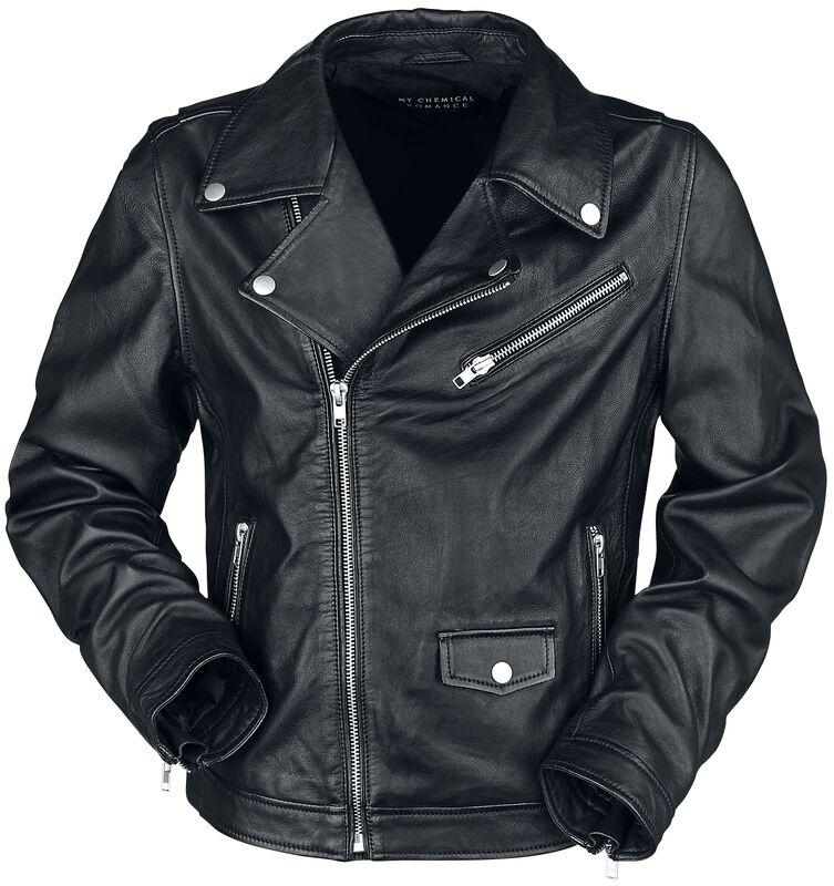 NJ Cross Leather Moto Jacket