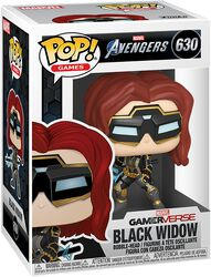 Black Widow (Glow in the Dark) (chance for Chase) Vinyl Figure 630