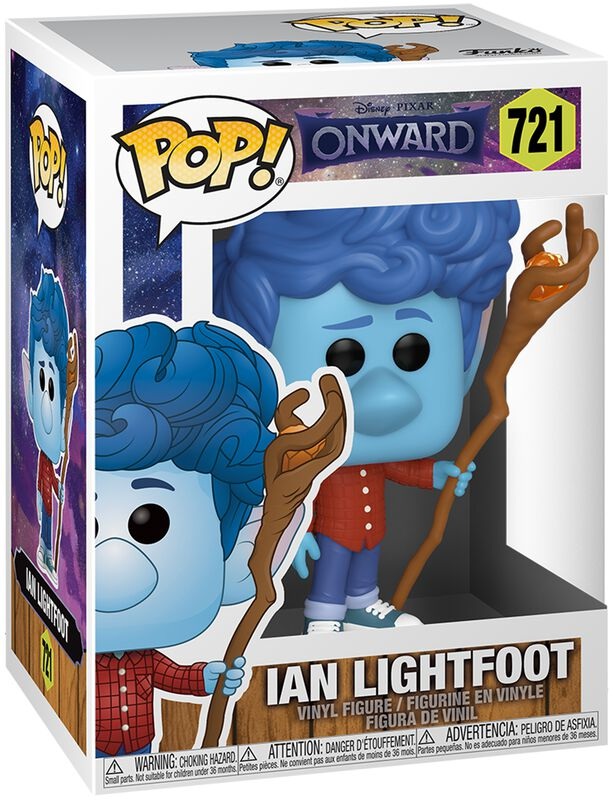 Ian Lightfoot Vinyl Figure 721