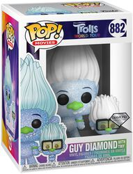 World Tour - Guy Diamond with Tiny (Glitter) Vinyl Figure 882