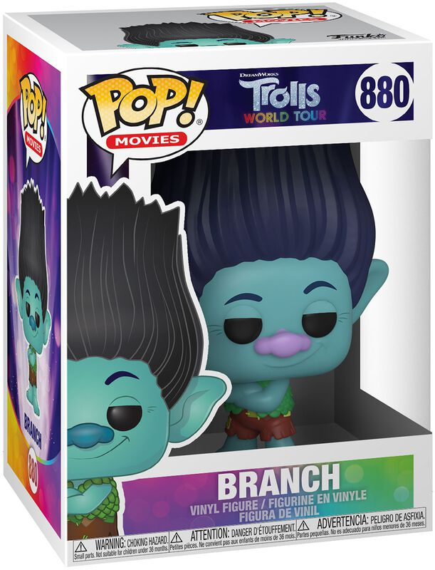 World Tour - Branch (chance for Chase) Vinyl Figure 880