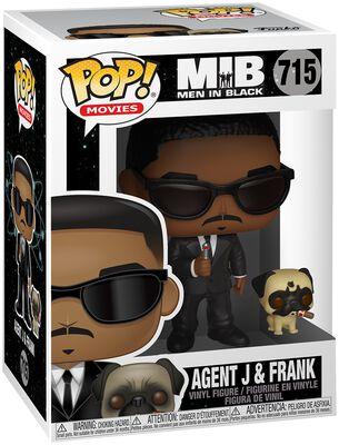 Agent J and Frank Vinyl Figure 715