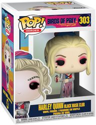 Harley Quinn Black Mask Club Vinyl Figure 303