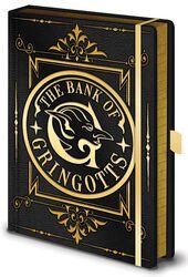 Gringotts - Premium Notesbog