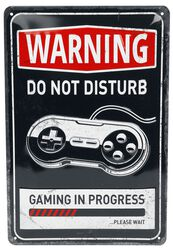 Warning! Gaming In Progress