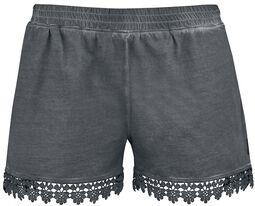 Hot Pants med blonder