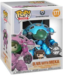 D.VA with Meka (Supersized) Vinyl Figure 177