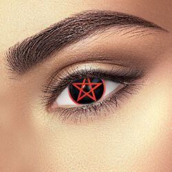 Red Pentagram Eye
