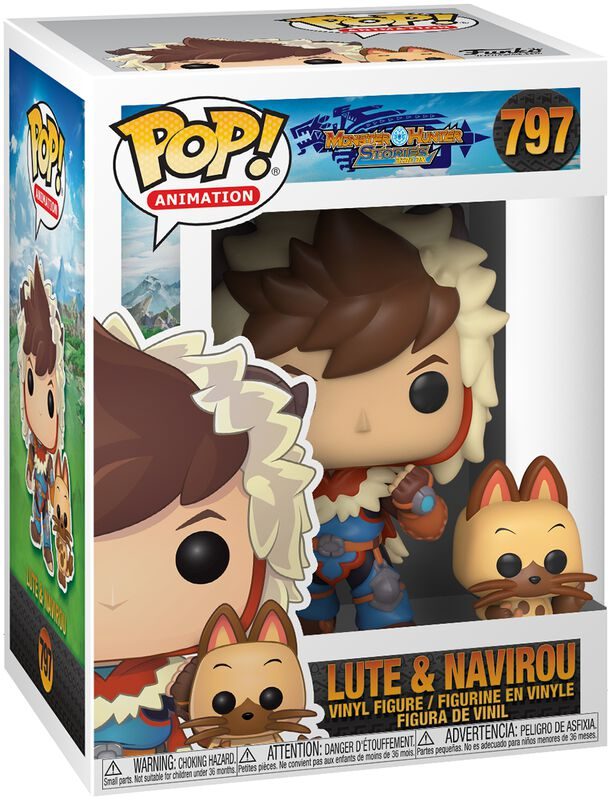 Lute with Navirou Vinyl Figure 797