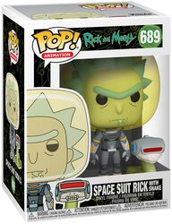 Season 4 - Space Suit Rick With Snake Vinyl Figure 698