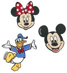 Mickey Mouse & Friends Patch-sæt