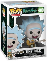 Tiny Rick Vinyl Figure 489