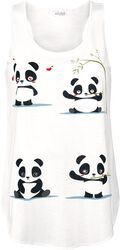Panda Vibes Vest