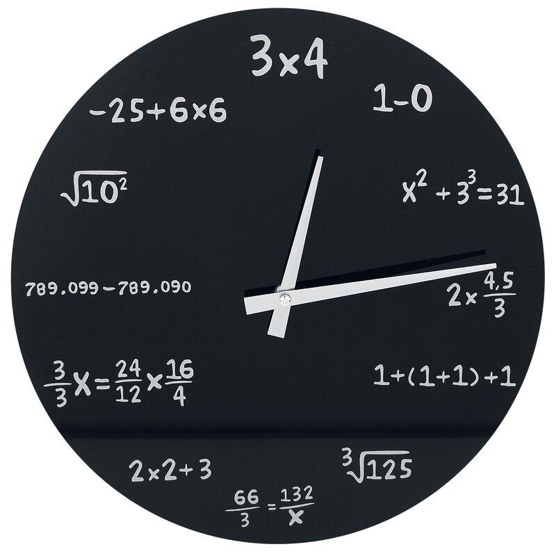 Mathematics vægur af glas