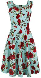 50s Ditsy Rose Floral Summer